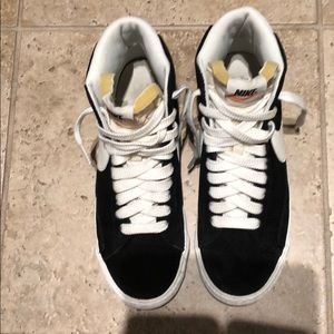Nike Suede High Tops